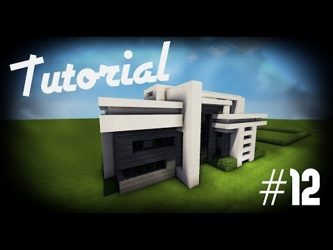 Minecraft: Como hacer una casa moderna #12 Tutoriales Construcciones