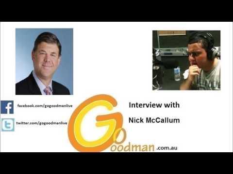 Gogoodman Interview With Nick McCallum June 2016