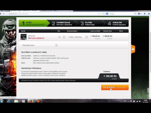 [Tutorial] Jak si udělat svúj vlastní server na MineCraft   a dalsi hry :)