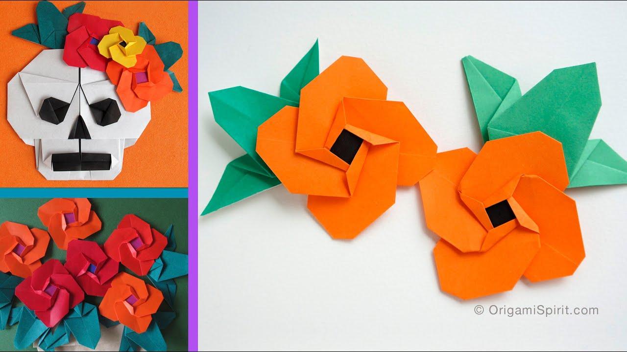 origami flower spanish eye flor ojo de venus youtube