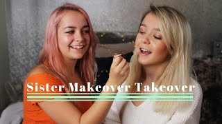 SISTER MAKEOVER TAKEOVER | The Powder Sisters