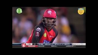 Chris gayle 12ball 50 run fastest 50