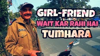 "COOL COPS - ""Girlfriend"" Wait Kar Rahi Hai Tumhara ? Respect Uttrakhand Police | UKO7 Rider Dehradun"