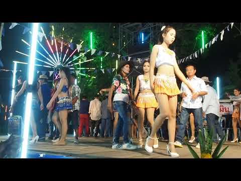 【#PhetchaburiDance】#รำวงเพชรบุรี✿จ้ำม่ำ❀แม่ฟันเลี่ยมทอง❁กรรมเก่าสังข์ทอง❂learn thai