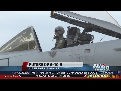 Proposed defense budget cuts would ground A-10 fleet