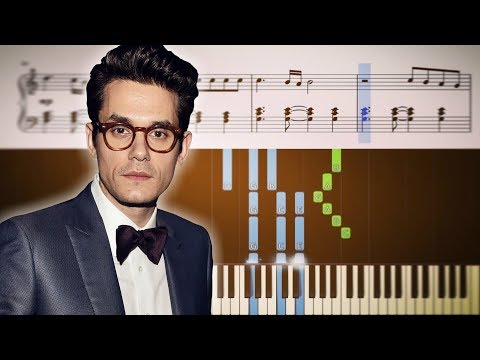 Download Lagu  John Mayer - New Light - Piano Tutorial + SHEETS Mp3 Free