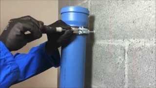 Montaggio sistemi di scarico - Collare antivibrante a punto fisso