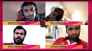 Cricket Chat with Thisara Perera and Upul Tharanga