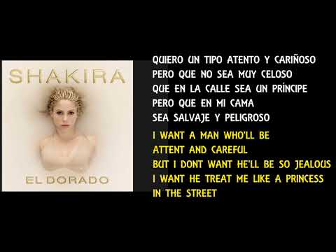 SHAKIRA - PERRO FIEL - ENGLISH LYRICS VERSION / LYRICS MEANING - LETRA ESPAÑOL