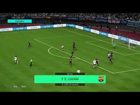 PES18 (PC) myclub online challenge game highlights
