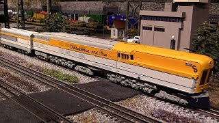 MTH C&O M-1 Steam Turbine
