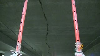 LIRR Commuters Concerned Over Crumbling Garage
