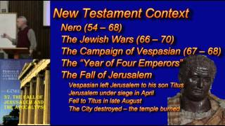 37. The Fall of Jerusalem and the Apocalypse