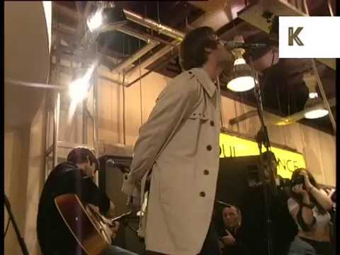 1990s Oasis Virgin Megastore Performance, 1995
