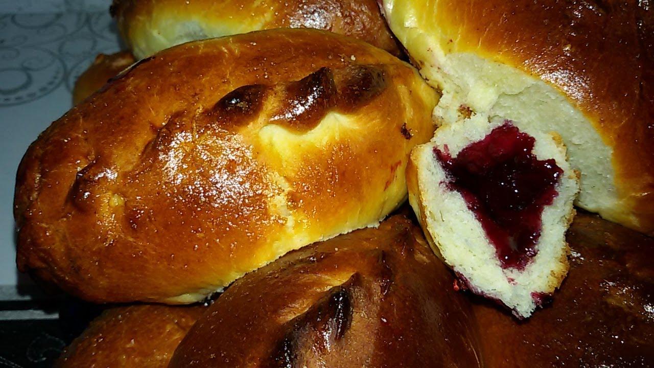 Пироги дрожжевые сладкиеы с фото