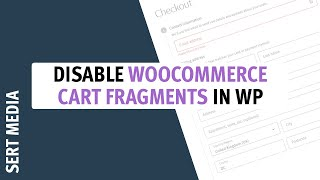 WooCommerce How To Disable Cart Fragments 2020 - How To Disable WooCommerce Cart Fragments