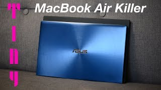 The Worlds Smallest 14 inch Laptop - ASUS ZenBook 14 REVIEW UX433F - The MacBook Air Killer