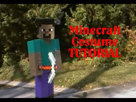 ~MINECRAFT Steve COSTUME~ +tutorial