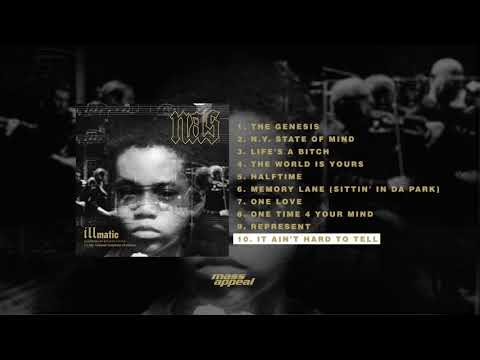 Nas - It Ain't Hard To Tell (Live) [HQ Audio]