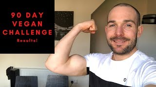 90 Day Vegan Diet - Benefits and Body Transformation Results