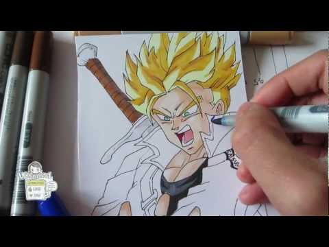 Trunks Ssj Drawings How to Draw Future Trunks