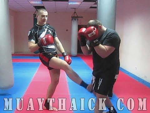 Тайский бокс Самоучитель - Травмирующая комбинация для самообороны на улице