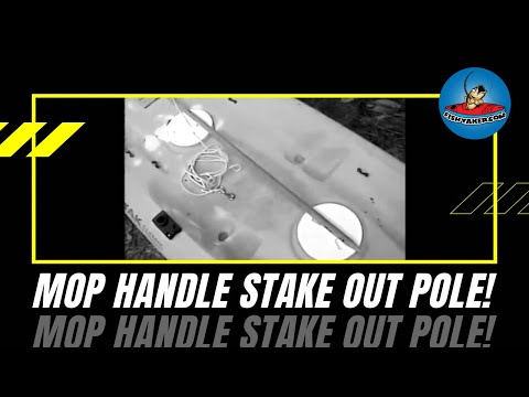 Kayak Fishing Mop Handle Stakeout Pole: Episode 6