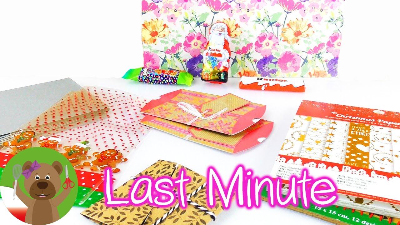 Kalendarz adwentowy last minute | pomysł dla dzieci | pakowanie prezentów
