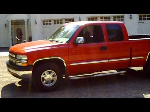 2000 GMC Sierra like Chevy 1500 Pickup Truck 5.3L Red