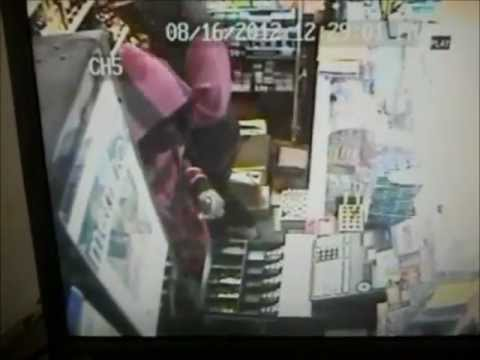 Discount Liquor Store Robbery , Cedar Rapids , Iowa , 2012 hd