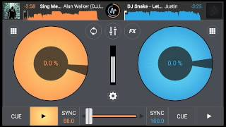 How to Mix Songs On Cross Dj Mobile app Tutorial In Hindi/ Part-1