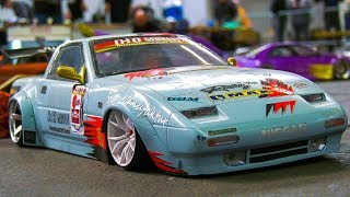 STUNNING RC MODEL DRIFT CARS IN DETAIL AND MOTION!! *RC DRIFT FERRARI, RC NISSAN