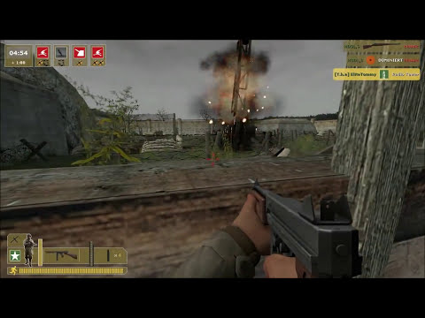 Day of Defeat: Source Gameplay - Omaha Beach (HD)