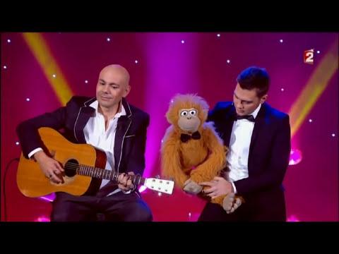Jeff Panacloc et jean-marc chanson Noël , Le plus grand cabaret du monde