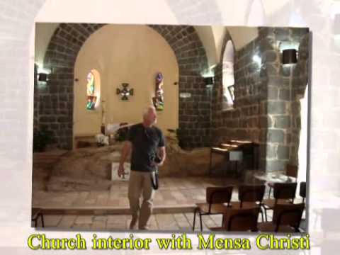 Church of the Primacy of Peter, Israel - commemorating the post-resurrection sighting of Jesus
