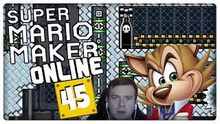SUPER MARIO MAKER ONLINE Part 45: Famitsu-Level & Bowser