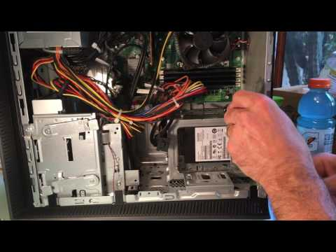 How To Replace HP / Hewlett Packard / ENVY Desktop Hard Drive (also Pavillion?)