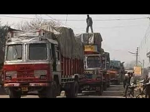 24 Hours: Not an easy road for India's truck drivers