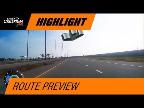 Bangkok Criterium 2014 : Route Preview