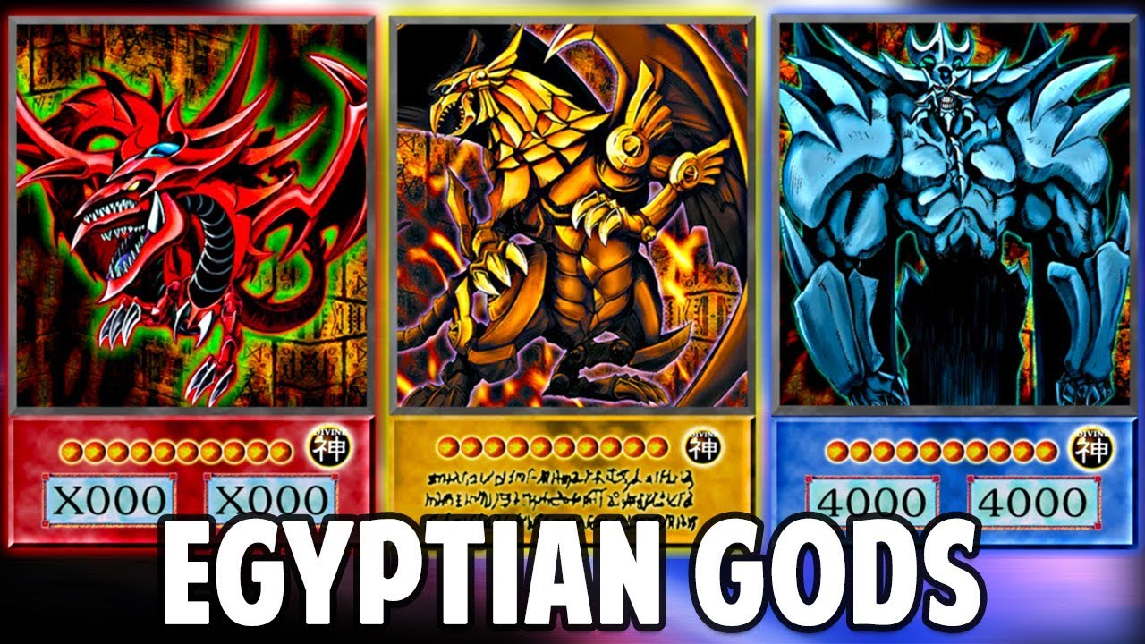 YuGiOh TCG Deck  EGYPTIAN GODS deck legal by ThE MuFFiN M4N