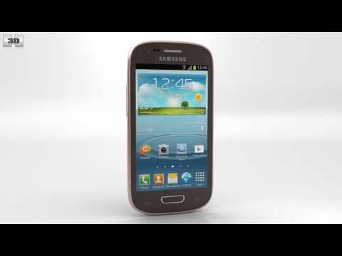 Samsung Galaxy S III Mini Amber Brown by 3D model store Humster3D.com