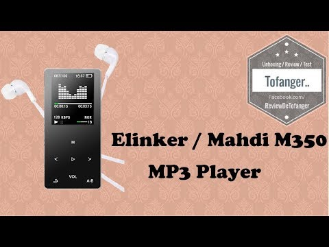 Elinker or Mahdi M350: MP3 and MP4 player