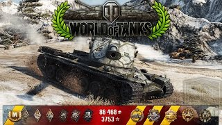 World of Tanks - Kranvagn - 11.1k Damage - 10 Kills - 1vs5 [Replay|HD]