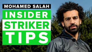 How to improve as a striker | football skills tips from Mo Salah