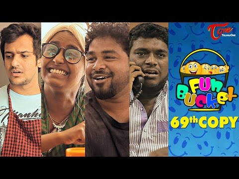 Fun Bucket | 69th Copy | Funny Videos | by Harsha Annavarapu | #TeluguComedyWebSeries thumbnail