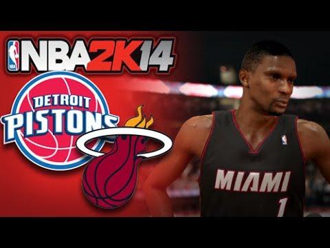 NBA 2K14 [Next Gen] Game 4 :: Heat vs Pistons