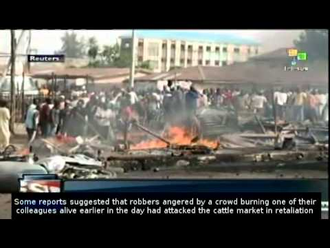 Dozens killed in attack on Nigeria cattle market