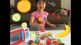 Slime Hoa Quả - Bé Nấm Chơi Slime Trái Cây - Slime Toys