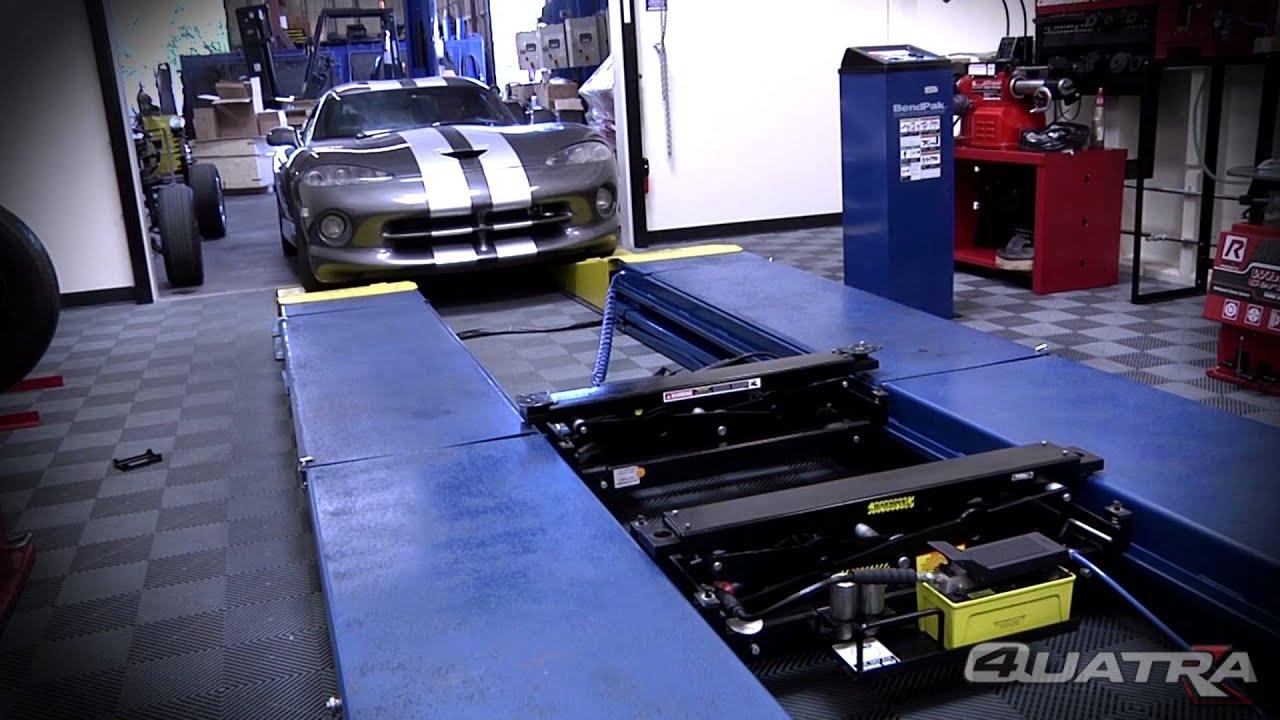 Super low profile car lift ramps - Quatra Pantograph ...