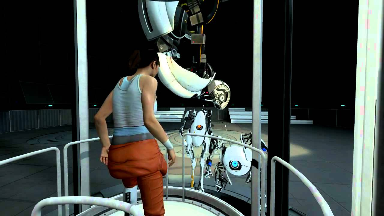 portal 2 ending thesis The video game portal 2 by valve has a very entertaining ending but the scene after the credits was just a bit too short featuring a song by clint mansell.